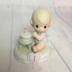 PM Growing in Grace Age 1 Blonde Girl Figurine
